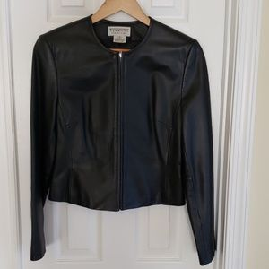 Cute 100% leather jacket